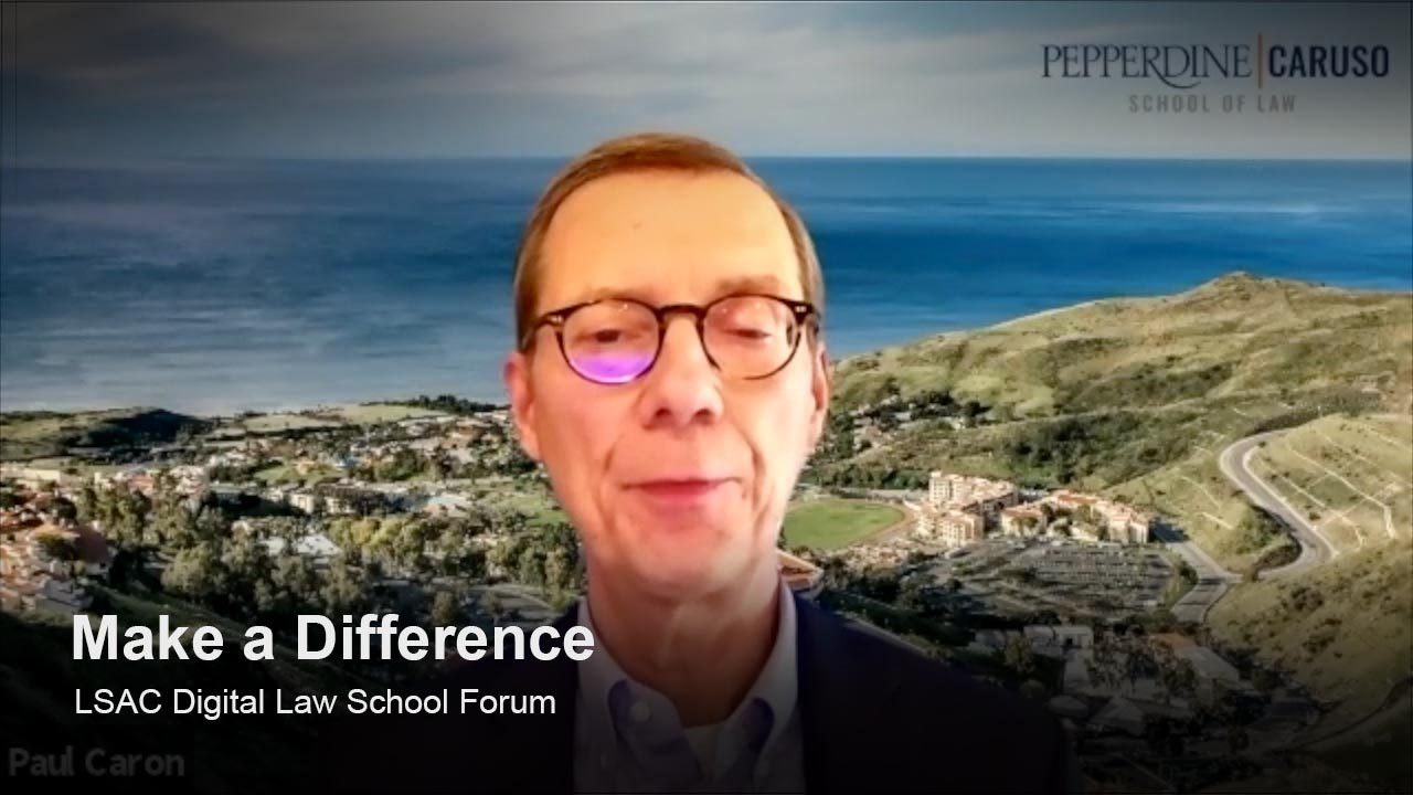 Play Pepperdine University Rick J. Caruso School of Law video