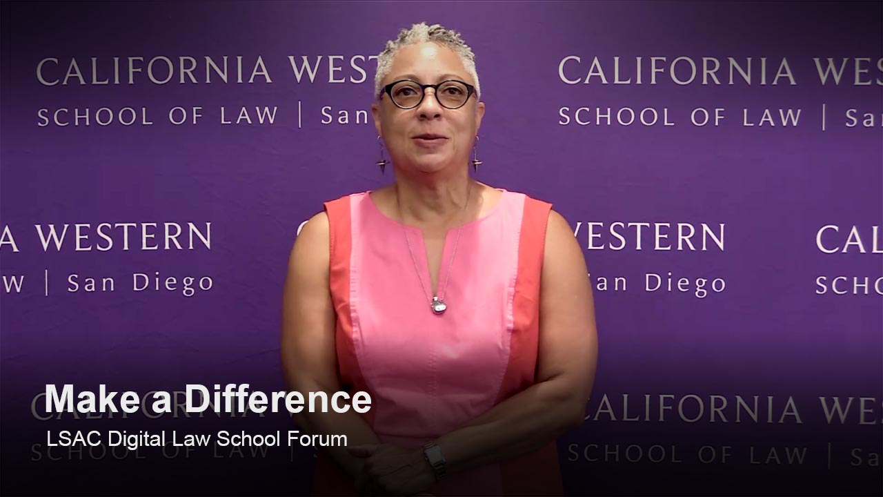 Play California Western School of Law video