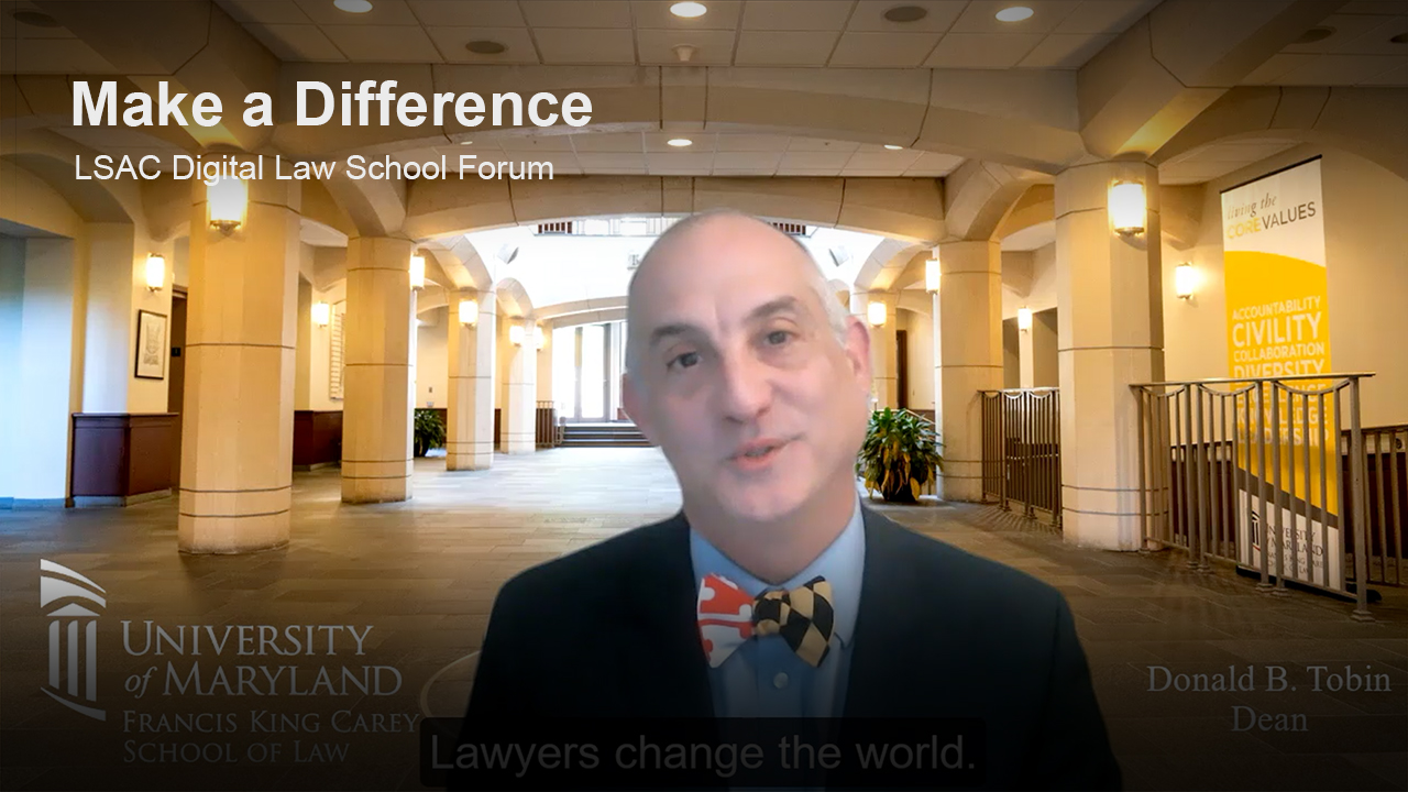 Play University of Maryland, Francis King Carey School of Law video