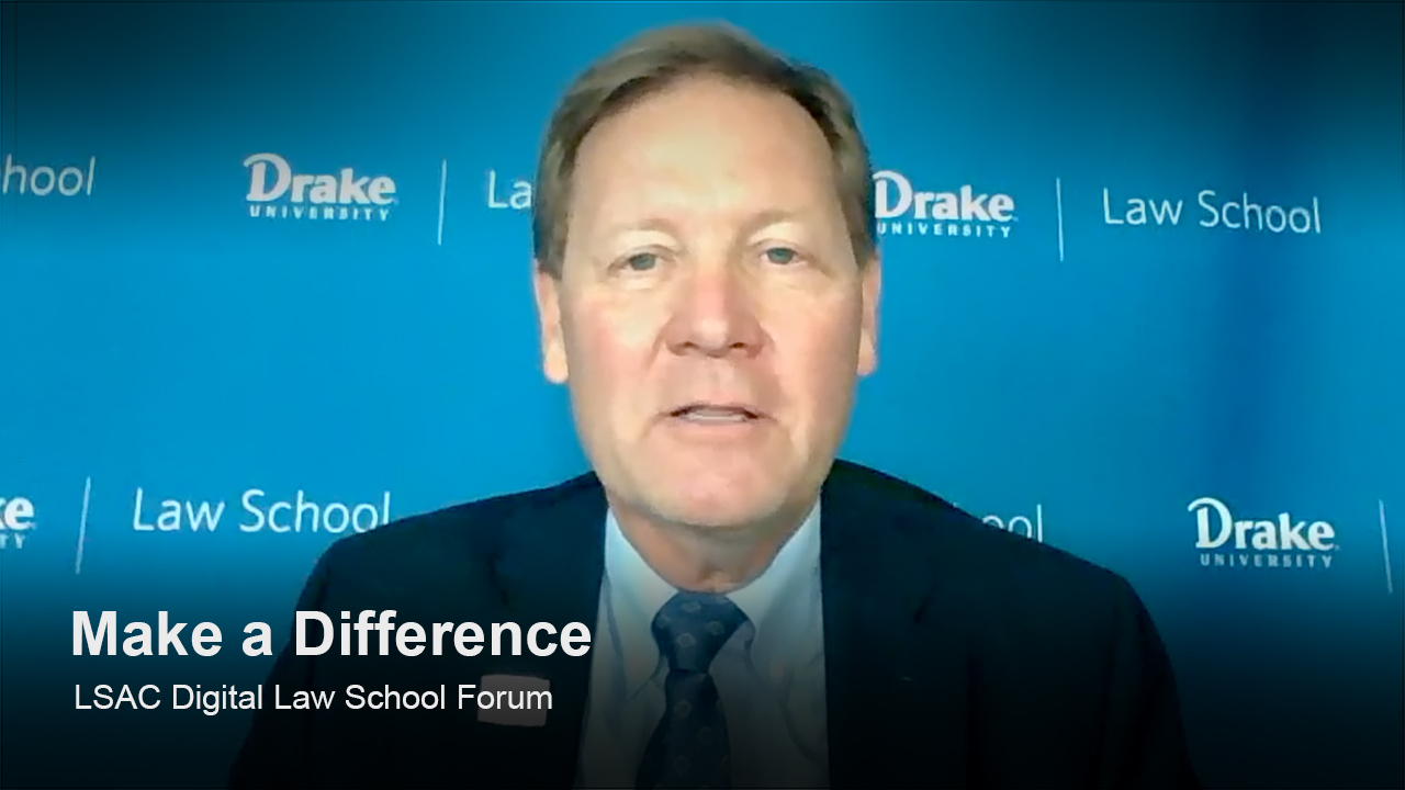 Play Drake University Law School video