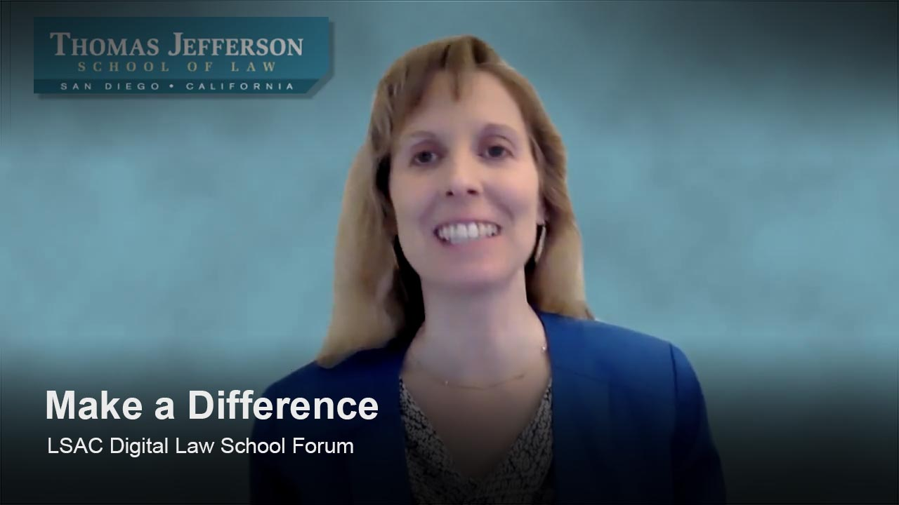 Play Thomas Jefferson School of Law video