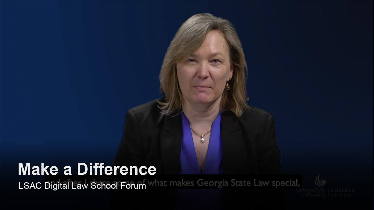 Play Georgia State University College of Law video