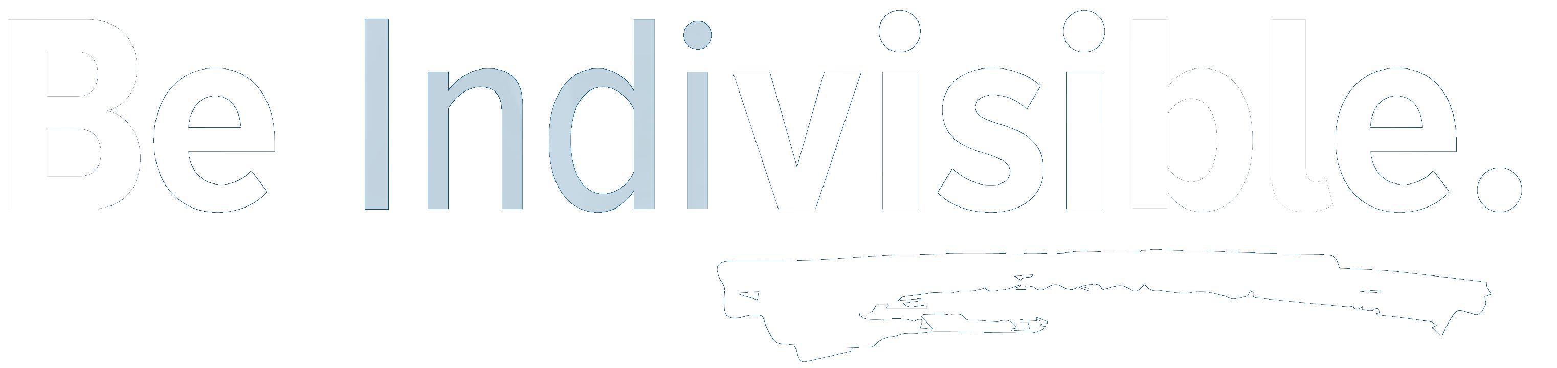 Be Indivisible Logo