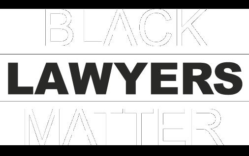 Black Lawyers Matter logo badge