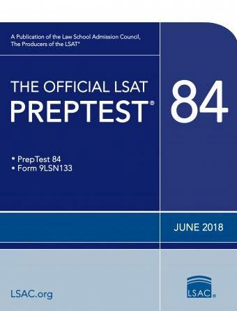 The Official LSAT PrepTest 84 - June 2018
