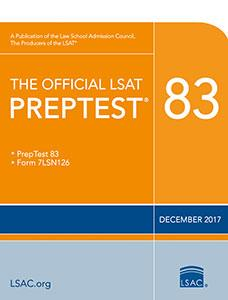 Official LSAT PrepTests Cover Art