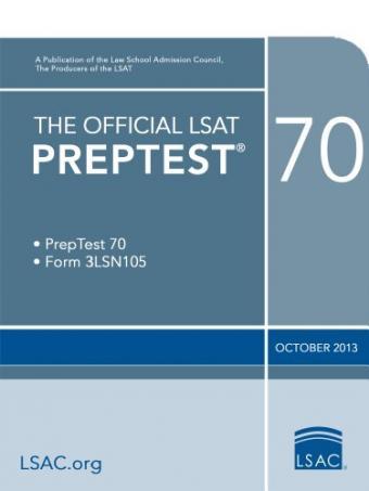 Preptest 70 The Law School Admission Council