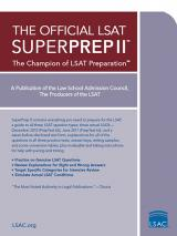 The Official LSAT SuperPrep II cover