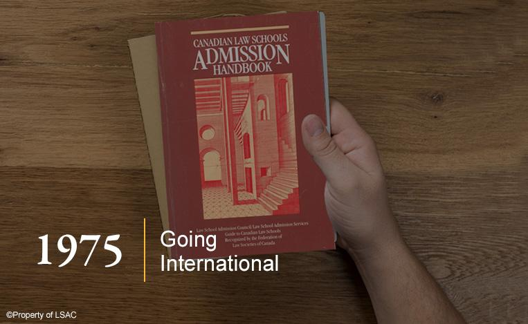 Cover of the Canadian Law Schools Admission Handbook. Image copyright LSAC.