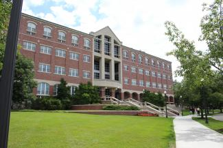 University of Dayton School of Law building