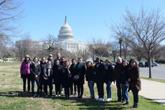 Students in Washington, DC