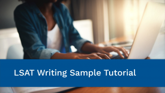 LSAT Writing tutorial - video opens in new window