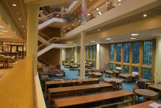 Jerome Hall Law Library interior