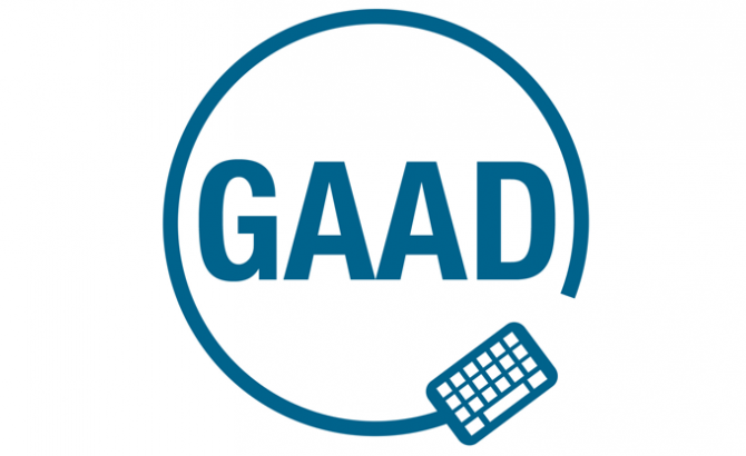 Global Accessibility Awareness Day (GAAD) logo